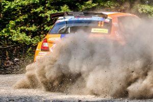 Pavel Valoušek jun./ Veronika Havelková, ŠKODA FABIA R5, Icari Rally Team. Barum Czech Rally Zlín 2017