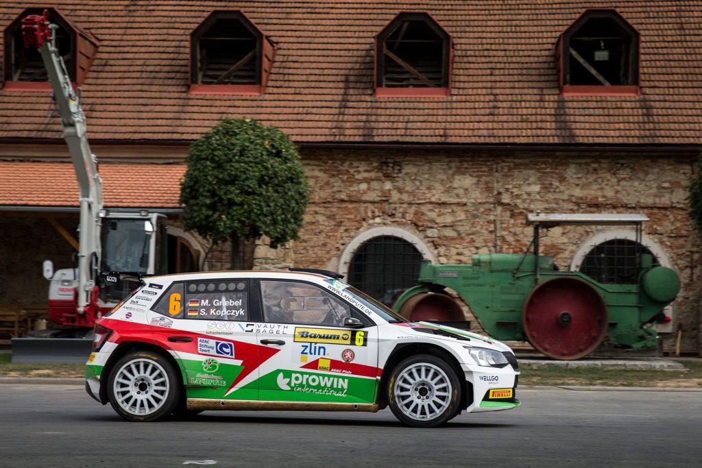 Marijan Griebel / Stefan Kopczyk, ŠKODA FABIA R5. Barum Czech Rally Zlín 2017
