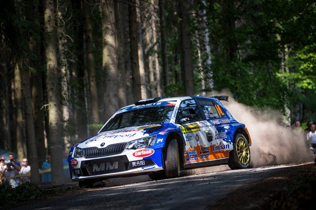 Martin Koči / Filip Schovánek, ŠKODA FABIA R5, Rallytechnology. Barum Czech Rally Zlín 2017