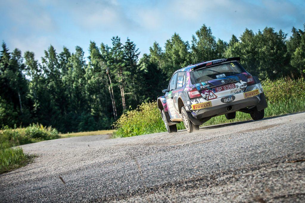Kalle Rovanperä / Jonne Halttunen, ŠKODA FABIA R5, TGS Worldwide OU. Lõuna-Eesti Ralli 2017