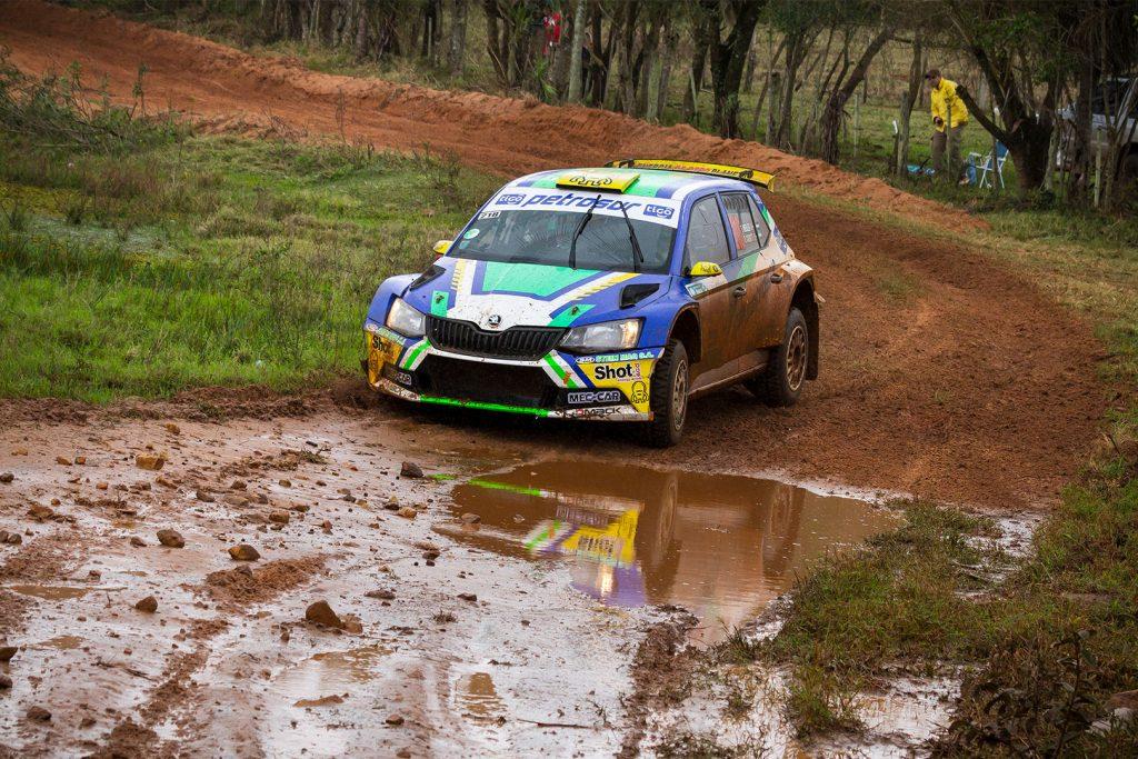 Tiago Weiler / Diego Cagnotti, ŠKODA FABIA R5. Rally Acosta Ñu 2017