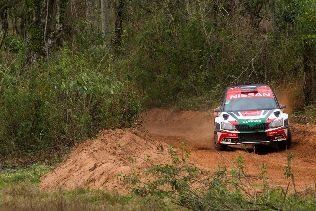 Didier Arias / Hector Nunes, ŠKODA FABIA R5. Rally Acosta Ñu 2017