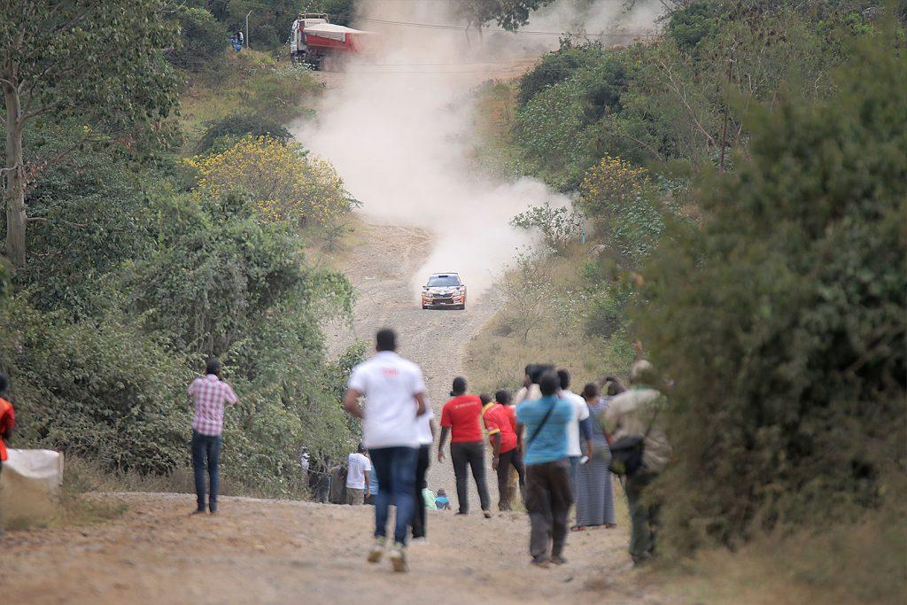 Manvir Singh Baryan / Drew Sturrock, ŠKODA FABIA R5, Multiple Racing Team. Rally of Tanzania 2017 (Foto: Rai Productions)