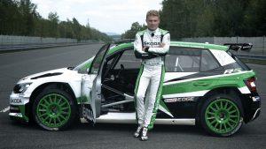 Pontus Tidemand Invites to Rallye Deutschland 2017, ŠKODA FABIA R5, ŠKODA Motorsport. Rallye Deutschland 2017