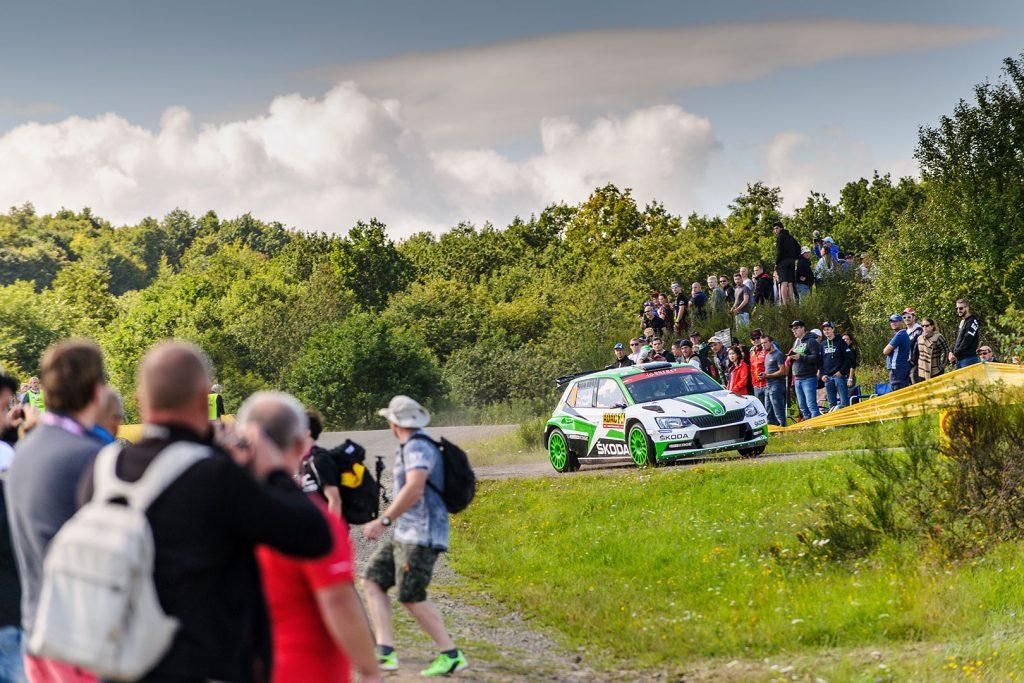 Jan Kopecký / Pavel Dresler, ŠKODA FABIA R5, ŠKODA Motorsport. Rallye Deutschland 2017