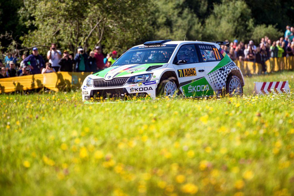 Fabian Kreim / Frank Christian, ŠKODA FABIA R5, ŠKODA AUTO Deutschland. Rallye Deutschland 2017