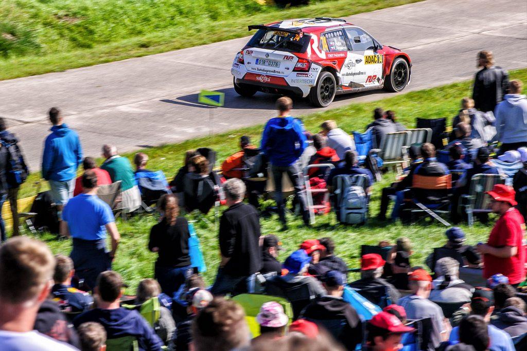 Patrik Rujbr / Veronika Římalová, ŠKODA FABIA R5. Rallye Deutschland 2017