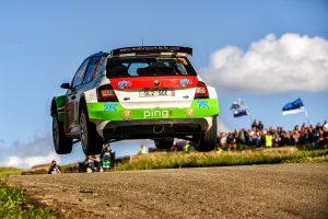 Benito Guerra jr./ Daniel Cué, ŠKODA FABIA R5, Motorsport Italia. Rallye Deutschland 2017