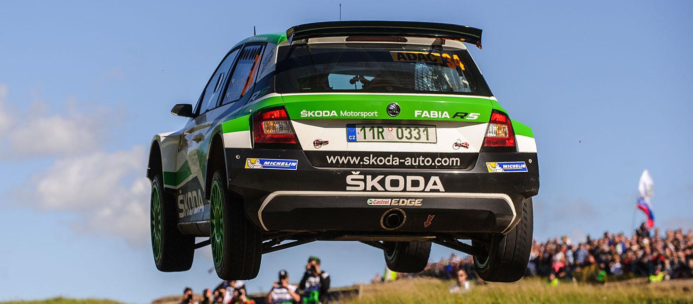 FOTO: ŠKODA Motorsport na Rallye Deutschland 2017