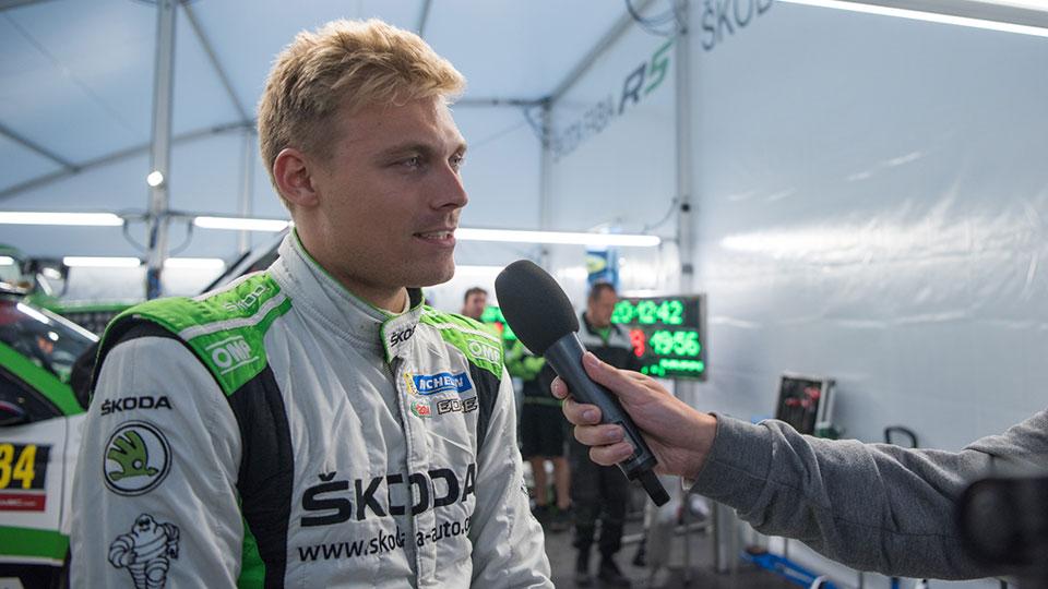Pontus Tidemand a Jan Kopecký o průběhu druhé etapy na Rallye Deutschland 2017