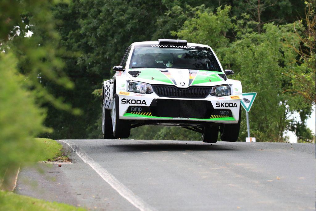 Fabian Kreim / Frank Christian, ŠKODA FABIA R5, ŠKODA AUTO Deutschland. Thüringen Rallye 2017