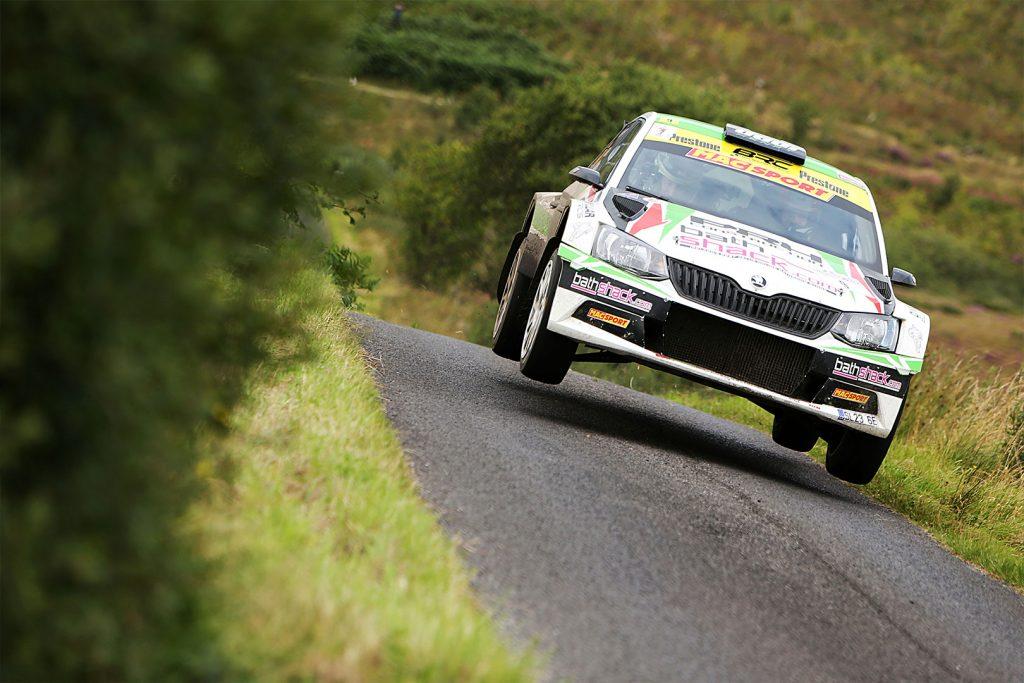 Desi Henry / Liam Moynihan, ŠKODA FABIA R5. Ulster Rally 2017