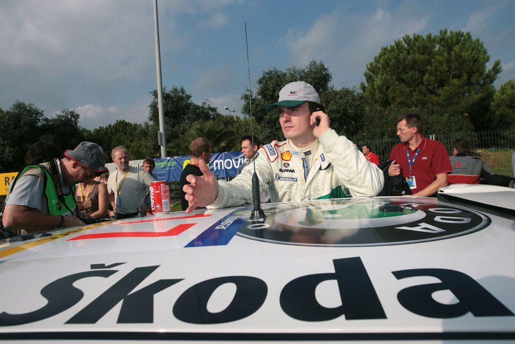 Jan Kopecký / Filip Schovánek, ŠKODA FABIA WRC, ŠKODA Motorsport. RallyRACC Catalunya – Costa Daurada 2005