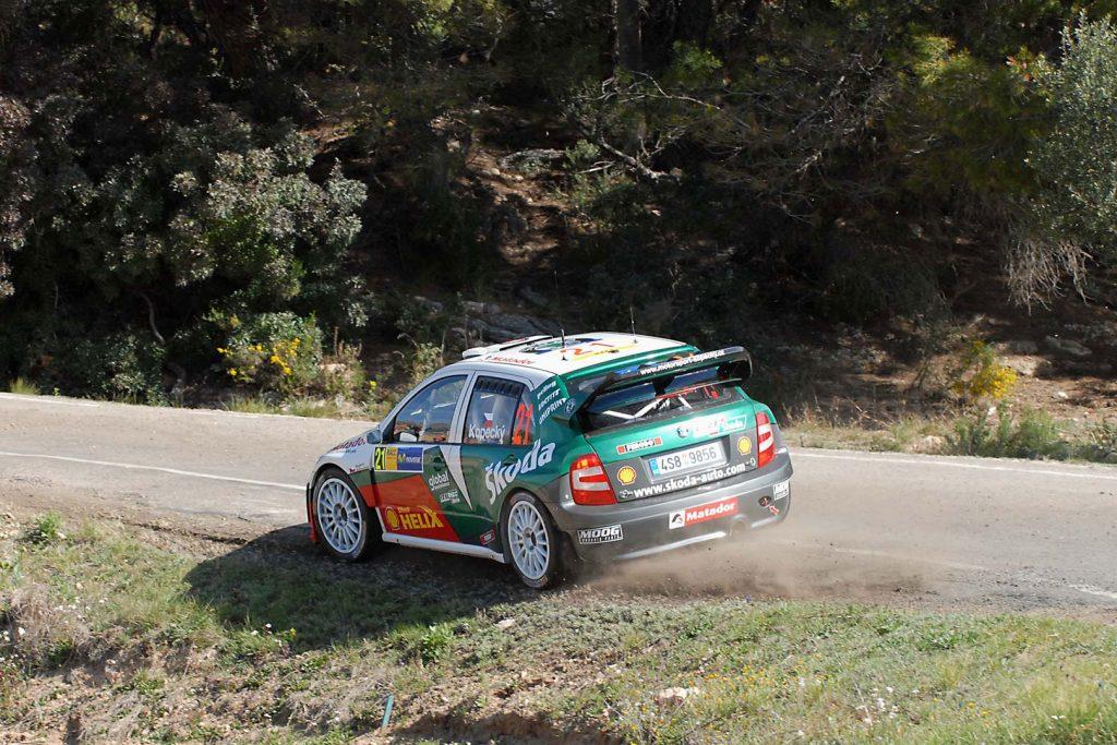 Jan Kopecký / Filip Schovánek, ŠKODA FABIA WRC, Czech Rally Team ŠKODA Kopecký. RallyRACC Catalunya – Costa Daurada 2006 (Foto: Motorsport Kopecký)