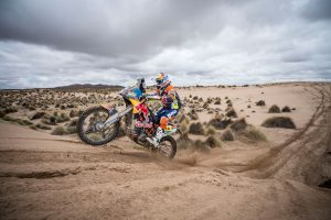 Matthias Walkner, Red Bull KTM. Rally Dakar 2017. (Photo: Red Bull Content Pool)