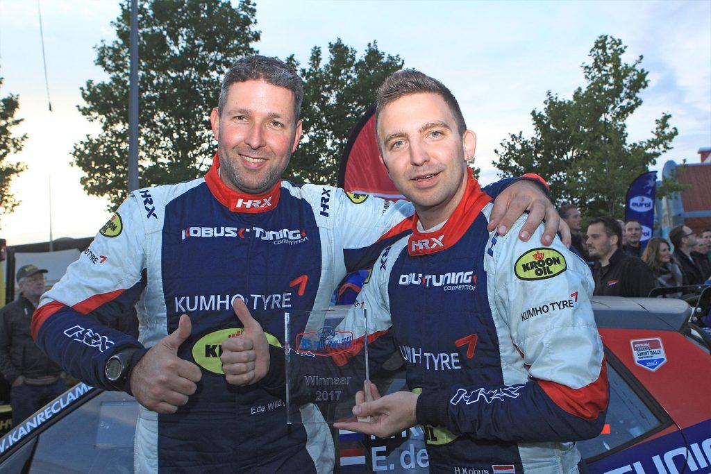 Hermen Kobus / Erik de Wild, ŠKODA FABIA R5. Hellendoorn Rally 2017