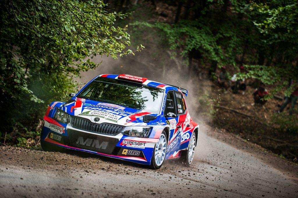 Grzegorz Grzyb / Jakub Wróbel, ŠKODA FABIA R5, Rufa Sport. Rallye Trebišov 2017