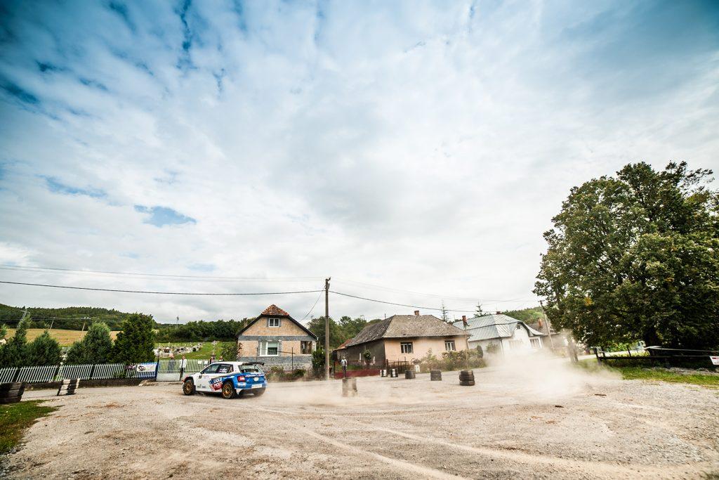 Igor Drotár / Tomáš Plachý, ŠKODA FABIA R5, Drotár Autošport. Rallye Trebišov 2017