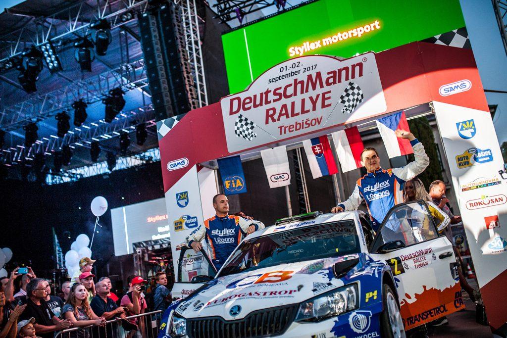 Martin Koči / Filip Schovánek, ŠKODA FABIA R5, Styllex Motorsport s.r.o.. Rallye Trebišov 2017