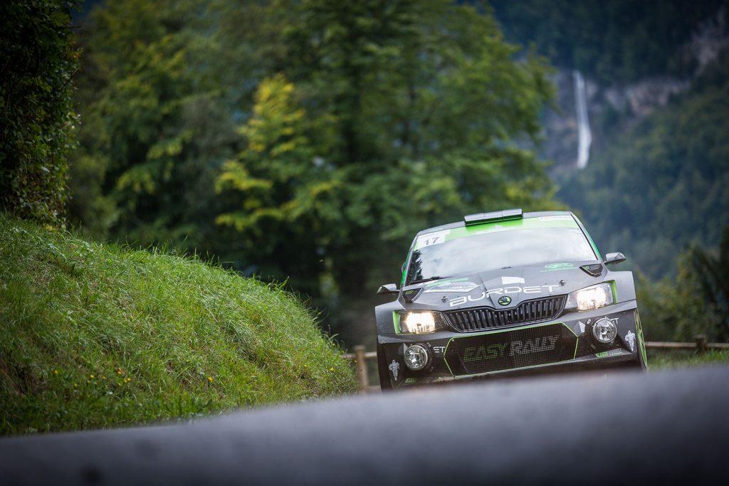 Benjamin Perrin / Grégory Deloche, ŠKODA FABIA R5. Rallye Mont-Blanc Morzine 2017
