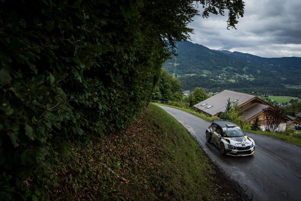 Charles Martin / Thierry Salva, ŠKODA FABIA R5, RTTC – Yacco. Rallye Mont-Blanc Morzine 2017