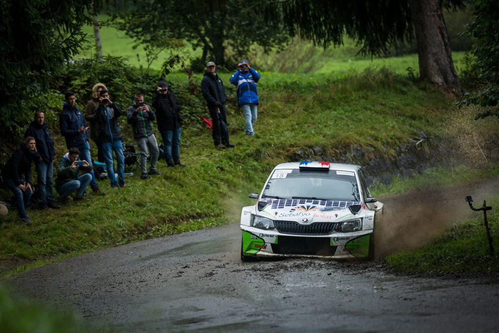 Matthieu Margaillan / Mathilde Margaillan, ŠKODA FABIA R5. Rallye Mont-Blanc Morzine 2017