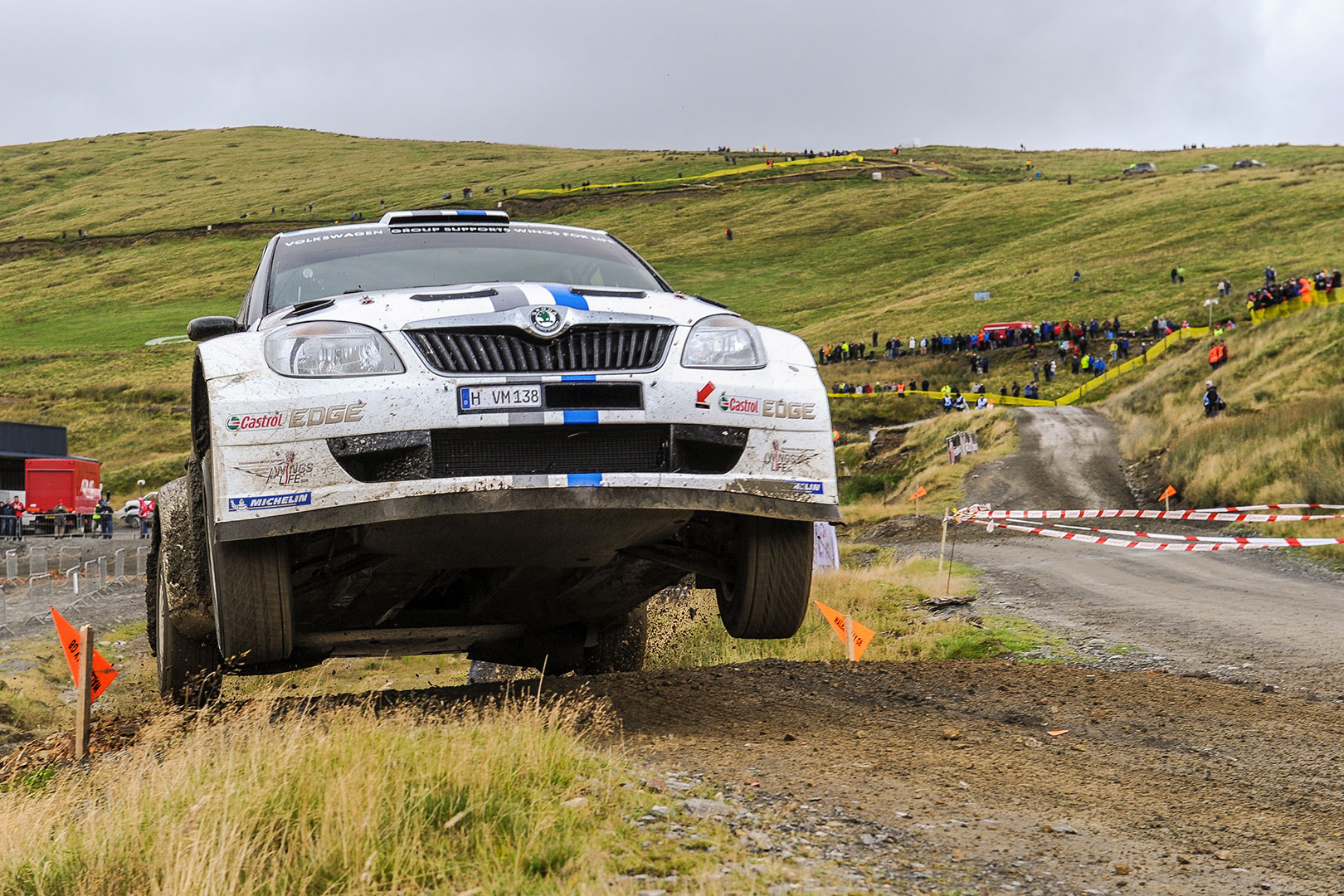 From the Archives: In 2012, Ogier started the era of his Wales Rally GB dominance in a FABIA S2000