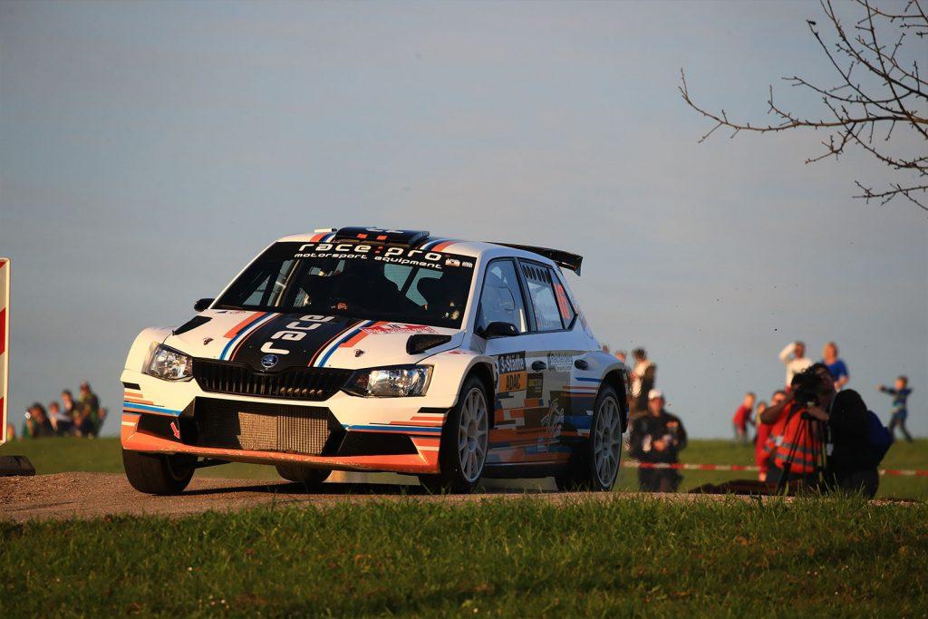 Thomas Wallenwein / Jennifer Lerch, ŠKODA FABIA R5, ADAC Niedersachsen-Sachsen Anhalt e.V.. 3-Städte-Rallye 2017