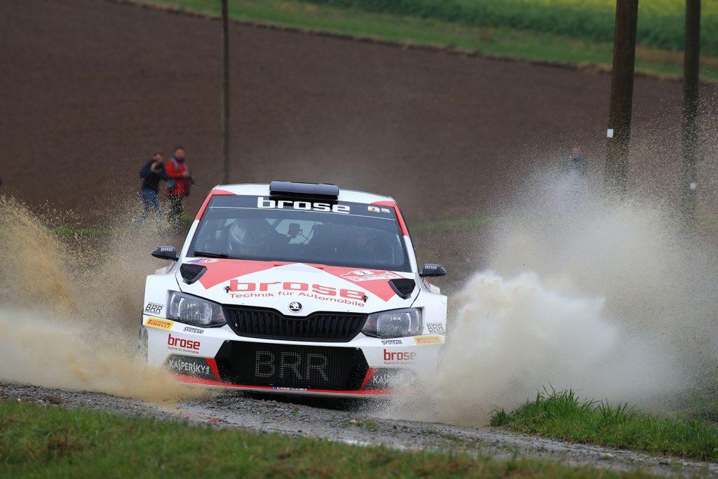 Dominik Dinkel / Christina Kohl, ŠKODA FABIA R5, Brose Motorsport. 3-Städte-Rallye 2017