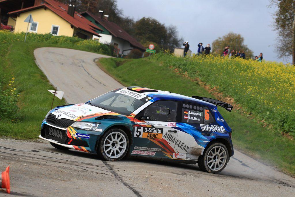 Sepp Wiegand / Anne Katharina Stein, ŠKODA FABIA R5, MC Grünhain. 3-Städte-Rallye 2017