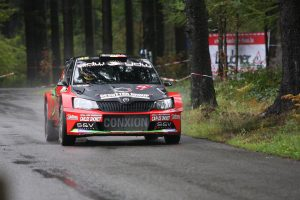 Vincent Verschueren / Veronique Hostens, ŠKODA FABIA R5. East Belgian Rally 2017 (Foto: BRC Media)