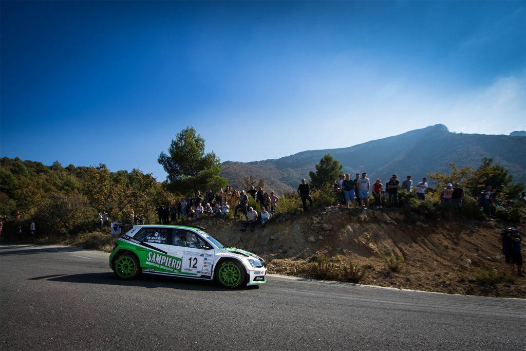 Paul-Antoine Santoni / Bartolo Fabrice De, ŠKODA FABIA R5. Finale de la Coupe de France des Rallyes Marseille 2017