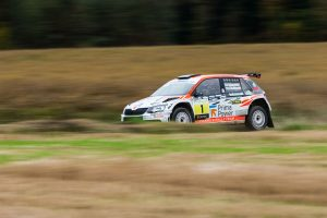 Teemu Asunmaa / Jonne Halttunen, ŠKODA FABIA R5, Hannu's Rally Team. Lake City Rally 2017