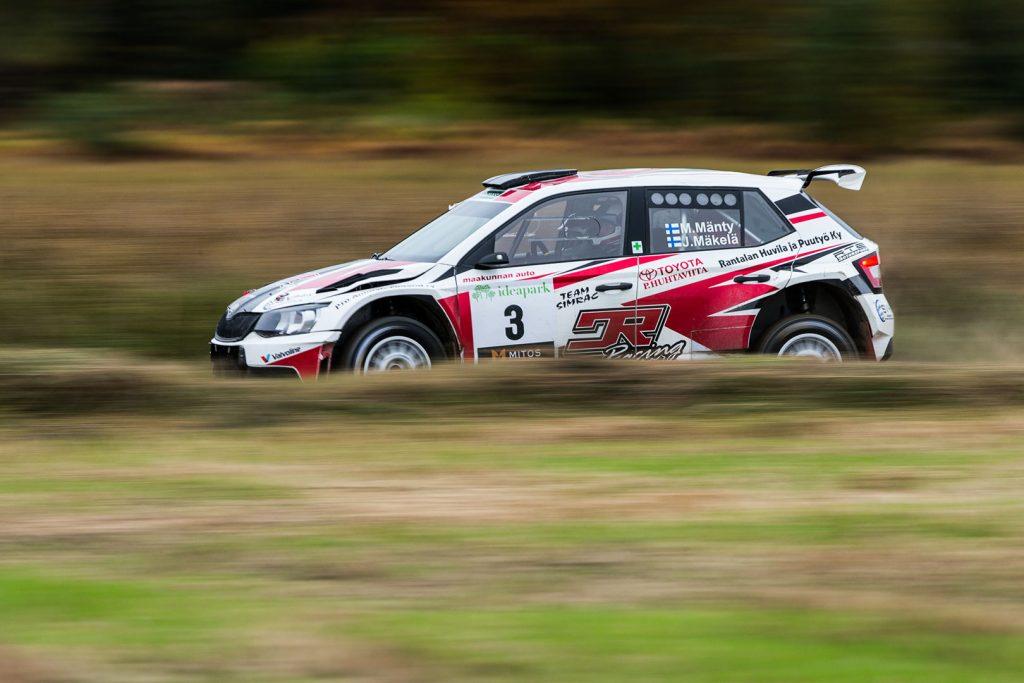 Marko Mänty / Joni Mäkelä, ŠKODA FABIA R5, Printsport Oy. Lake City Rally 2017