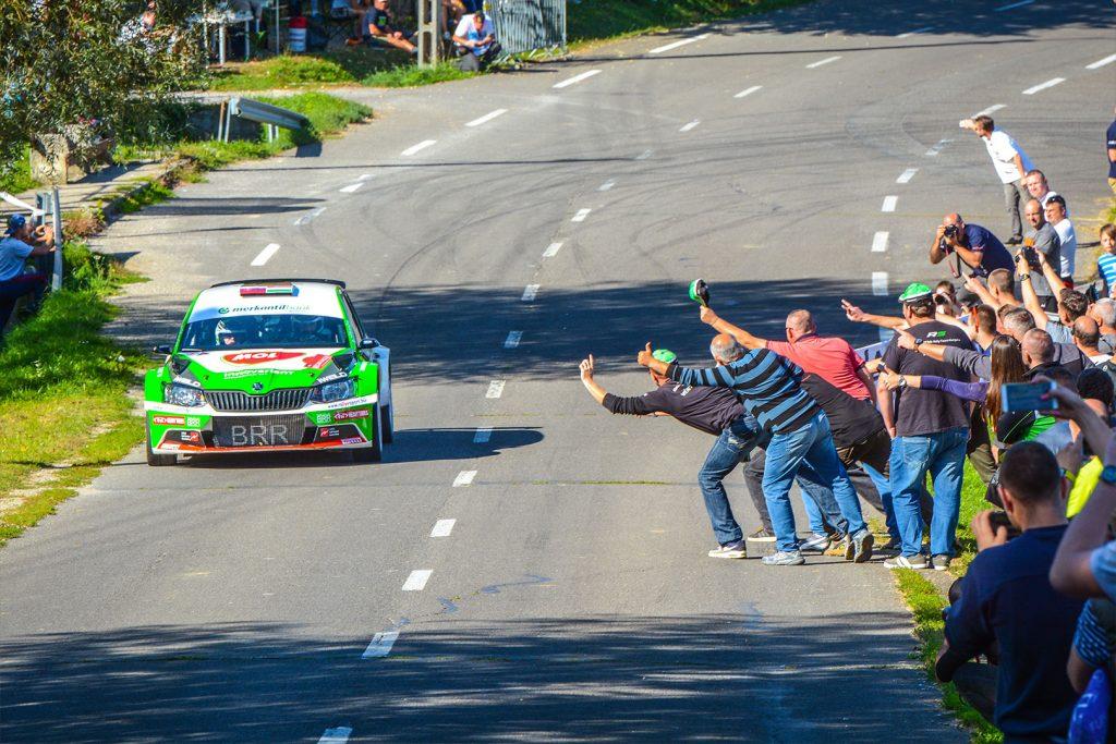 Norbert Herczig / Igor Bacigál, ŠKODA FABIA R5, ŠKODA Rally Team Hungaria. Mecsek Rallye 2017