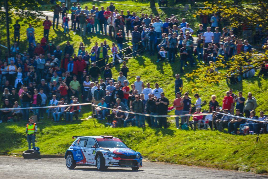 László Ranga jun. / Imre Tóth, ŠKODA FABIA R5, Ranga Rally Team. Mecsek Rallye 2017