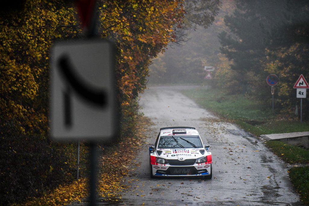 Igor Drotár / Tomáš Plachý, ŠKODA FABIA R5, Drotár Autošport. Rally Košice 2017
