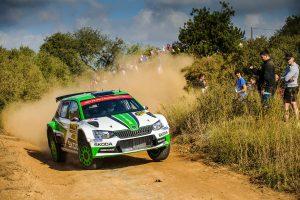 Jan Kopecký / Pavel Dresler, ŠKODA FABIA R5, ŠKODA Motorsport. RallyRACC Catalunya - Costa Daurada 2017