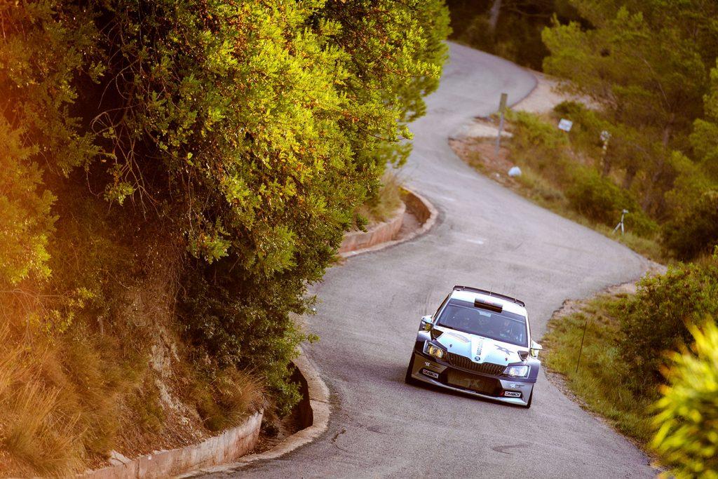 Orhan Avcioglu / Burcin Korkmaz, ŠKODA FABIA R5, Toksport WRT. RallyRACC Catalunya – Costa Daurada 2017