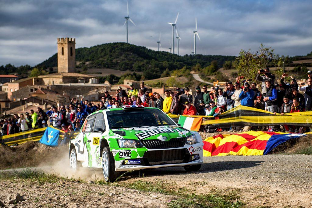 Ole Christian Veiby / Stig Rune Skjærmoen, ŠKODA FABIA R5, Printsport Oy. RallyRACC Catalunya – Costa Daurada 2017