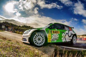 Ole Christian Veiby / Stig Rune Skjærmoen, ŠKODA FABIA R5, Printsport Oy. RallyRACC Catalunya - Costa Daurada 2017