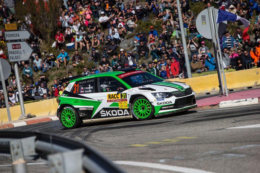 Jan Kopecký / Pavel Dresler, ŠKODA FABIA R5, ŠKODA Motorsport. RallyRACC Catalunya – Costa Daurada 2017