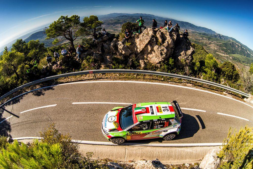 Benito Guerra jr./ Daniel Cué, ŠKODA FABIA R5, Motorsport Italia. RallyRACC Catalunya – Costa Daurada 2017