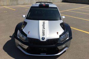 Orhan Avcioglu / Burcin Korkmaz, ŠKODA FABIA R5, Toksport WRT. RallyRACC Catalunya - Costa Daurada 2017