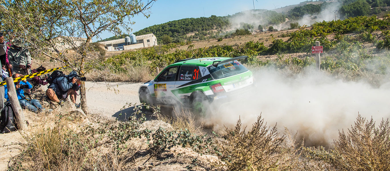WRC Spain: Challenging first day; Kopecký third and Nordgren fifth