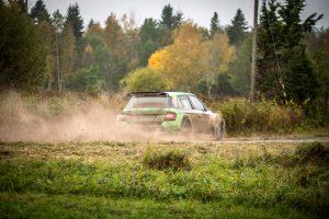 Raul Jeets / Andrus Toom, ŠKODA FABIA R5, Tehase Auto. Saaremaa Rally 2017