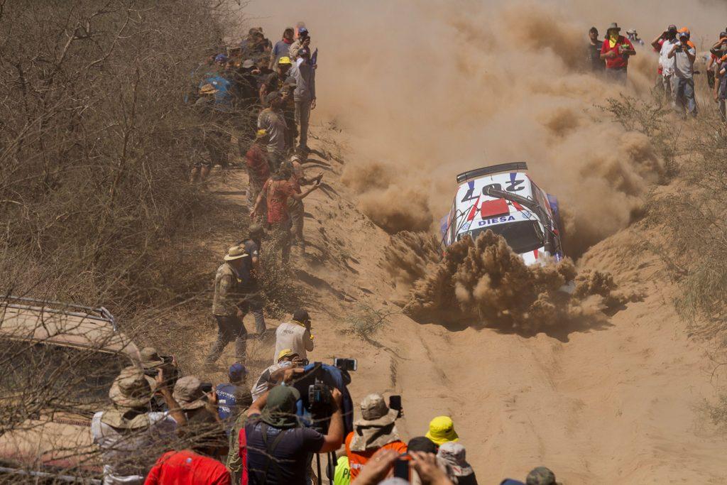 Pedro Fadul / Hans Thiede, ŠKODA FABIA R5. Transchaco Rally 2017
