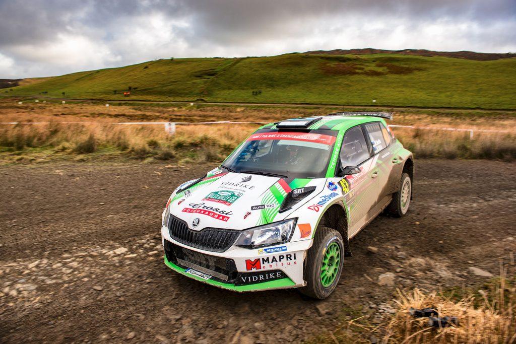 Raul Jeets / Kuldar Sikk, ŠKODA FABIA R5, Tehase Auto. Wales Rally GB 2017
