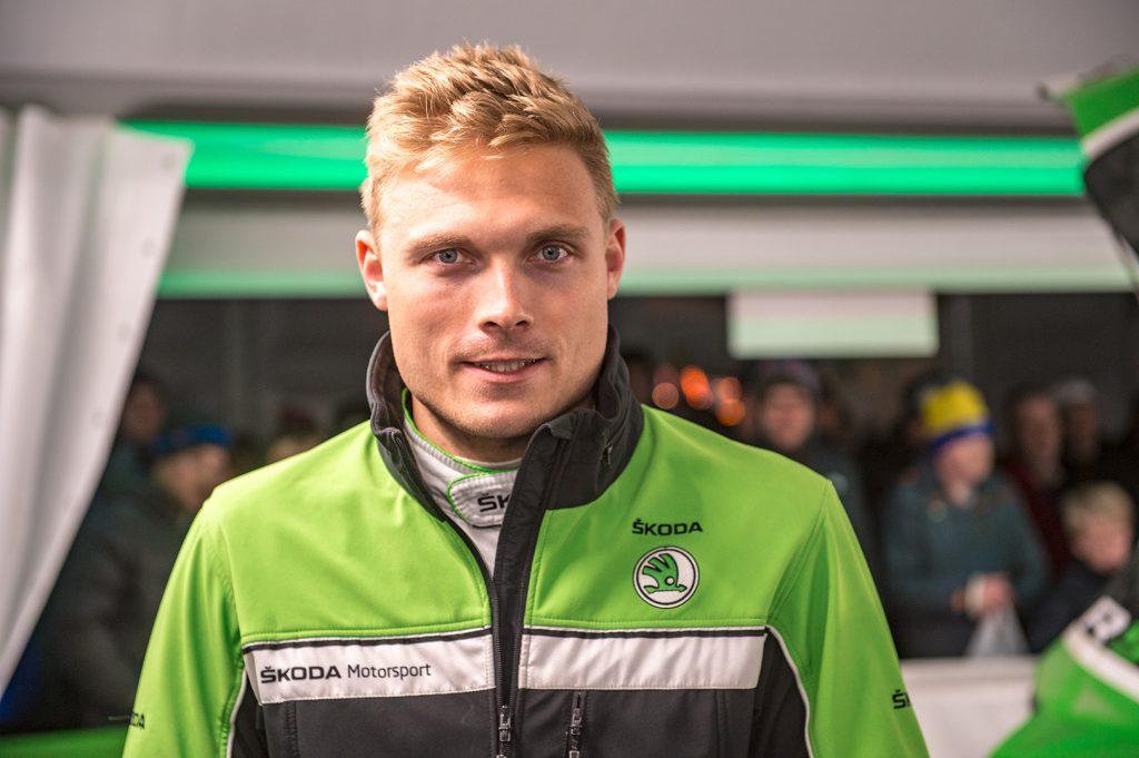 Pontus Tidemand / Jonas Andersson, ŠKODA FABIA R5, ŠKODA Motorsport. Wales Rally GB 2017
