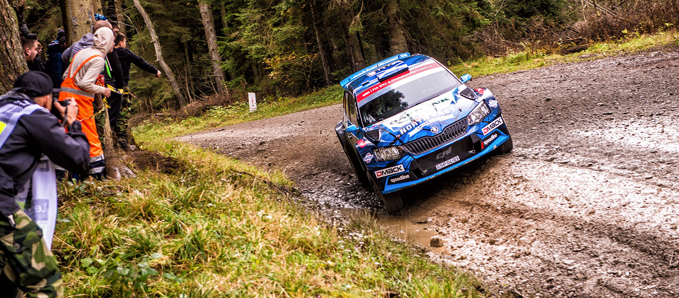 David Bogie: The MD who rewrote the Scottish rallying record book
